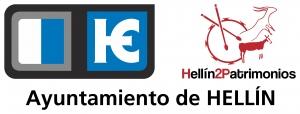 Logo Hellín 2 Patrimonios - town hall
