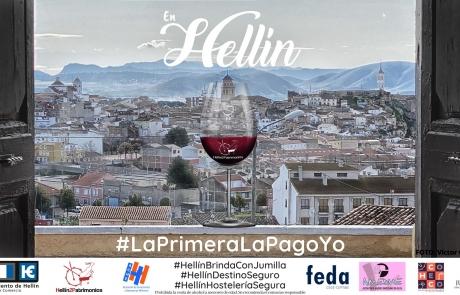 #HellínBrindaConJumilla entra en campaña #EnHellínLaPrimeraLaPagoYo